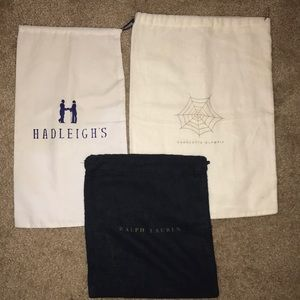 Authentic different dust cloth bags